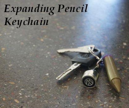 3D-Printed Handy Telescoping Key-chain Pencil Hack
