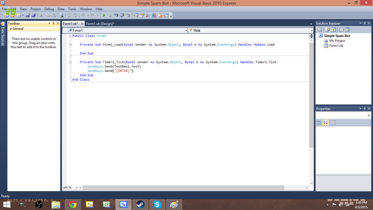 Step 8: Copy the Code As Shown for Timer1