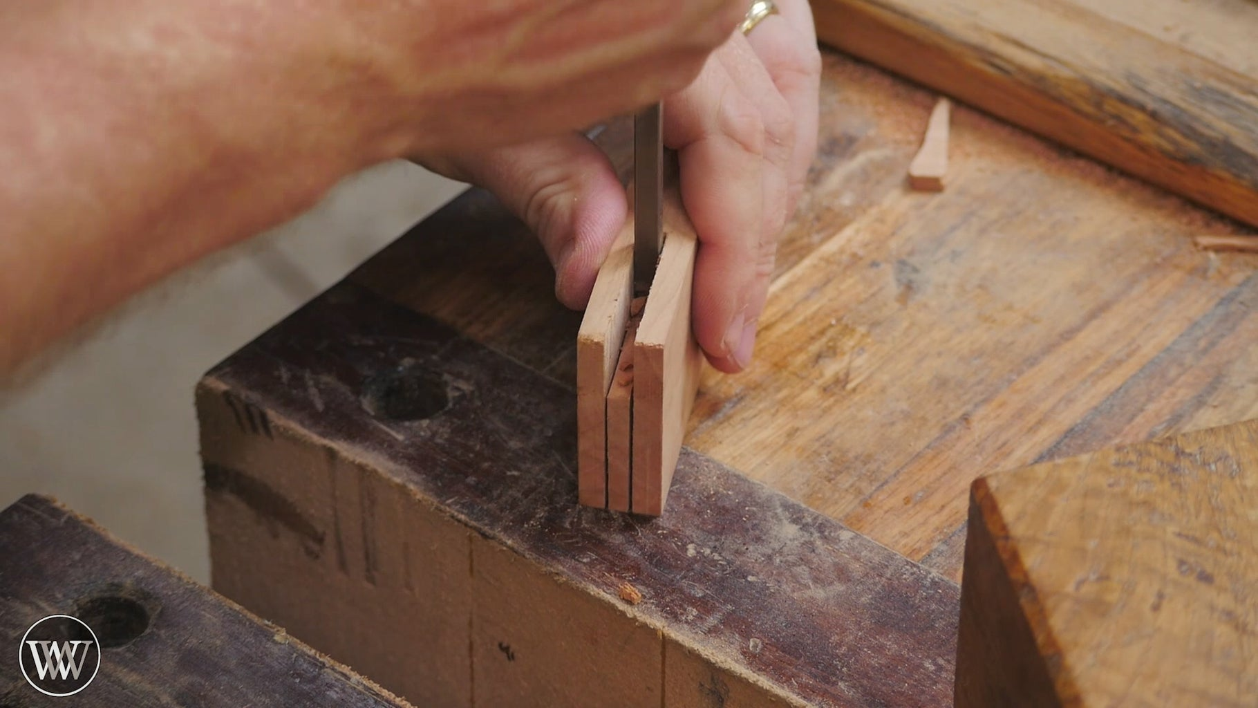 Cut the Mortise