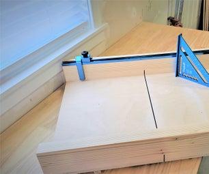 如何制作横切雪橇|简单的桌子锯雪橇