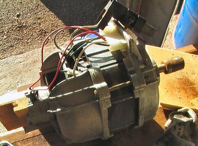 Using a Washing Machine Motor (Series Wound or 'Universal' Motor)