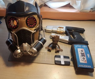 3D Printed Guardians of the Galaxy Props