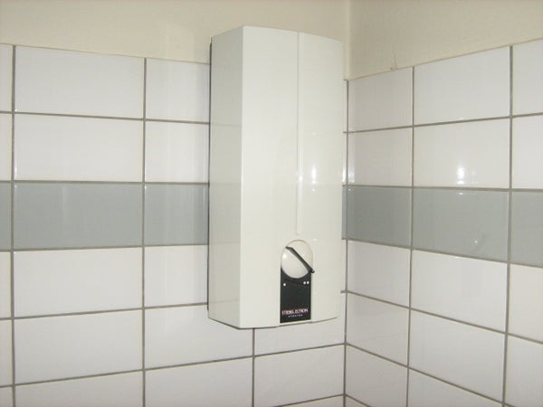 How to Take a Shower in Germany