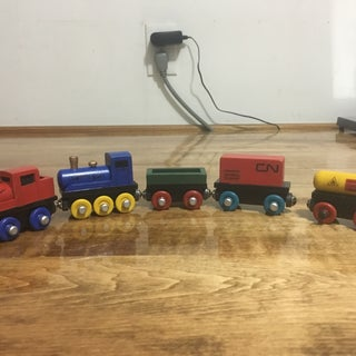 'Thomas the Tank Engine' Style Train Cars