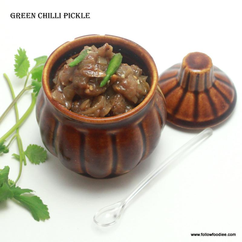 Thai Chilli Pickle / Indian Pickle