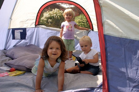 Play in a Tent
