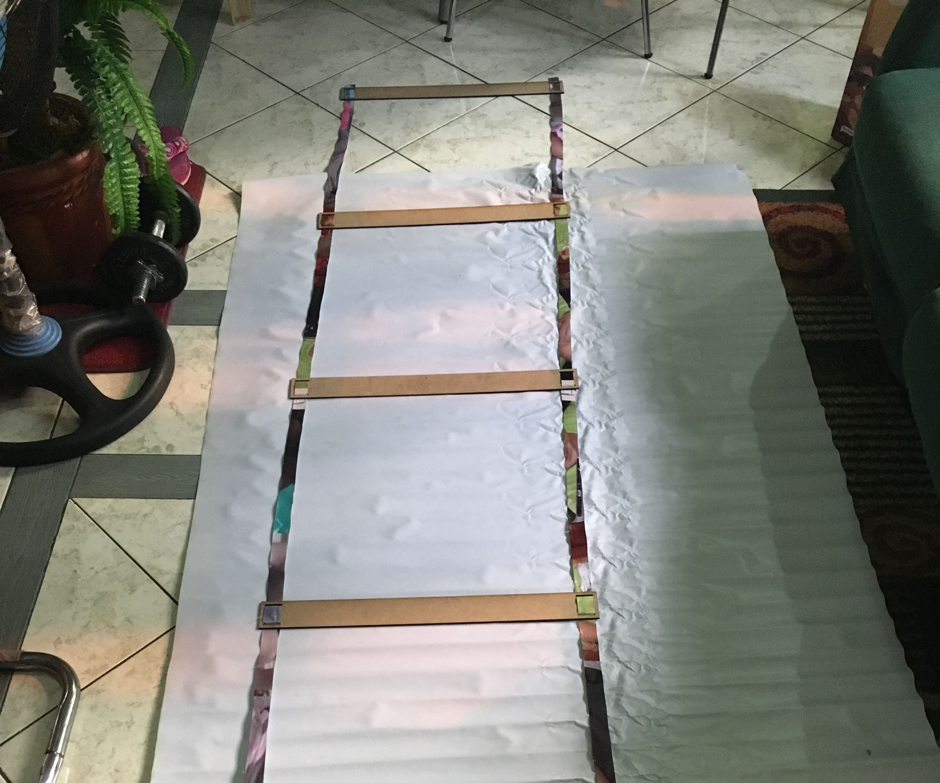 DIY Low-Cost Agility Ladder (0.25 USD Only!)