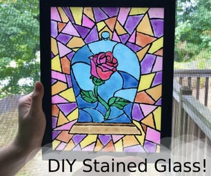 DIY Stained Glass!
