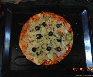 Daddy's Vegetarian Pizza