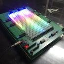 ATtiny85 - Spectrum Analyzer on RGB Led Matrix 16x20