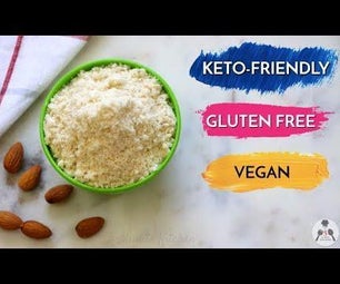 How to make Almond Flour [Almond Meal] at Home for Keto Recipes