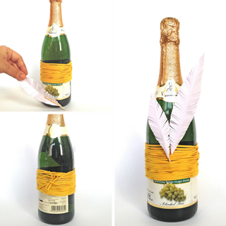 9 Wine Gift Wrap Ideas In 15 Minutes 5 Steps With Pictures Instructables