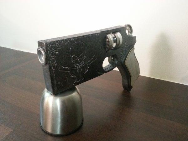 Space Ranger AntiMatter Hand Gun Pistol