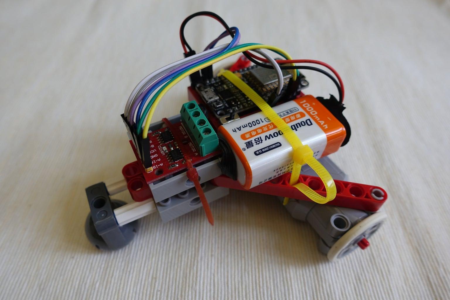 WiFi WebSocket Remote Robot