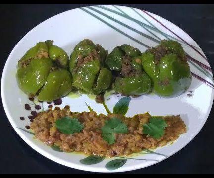 Stuffed Capsicum Recipe | Bhawan Shimla Mirch | Indian Vegetarian Recipes