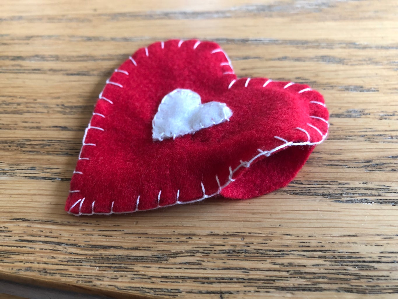 Sew the Red Hearts Together