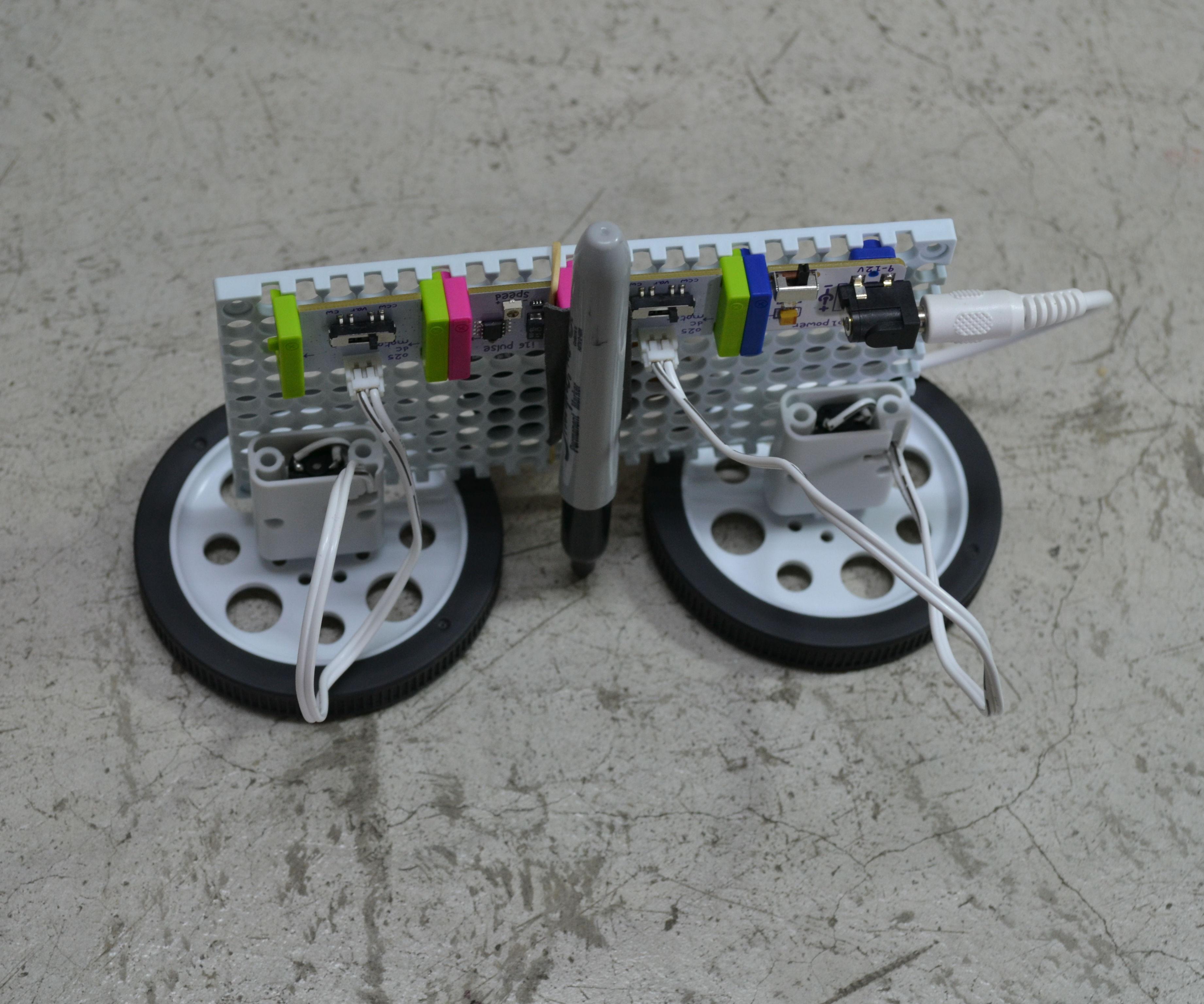 Como hacer un robot artistico