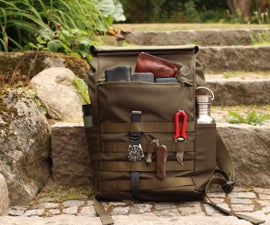 Home Made Backpack