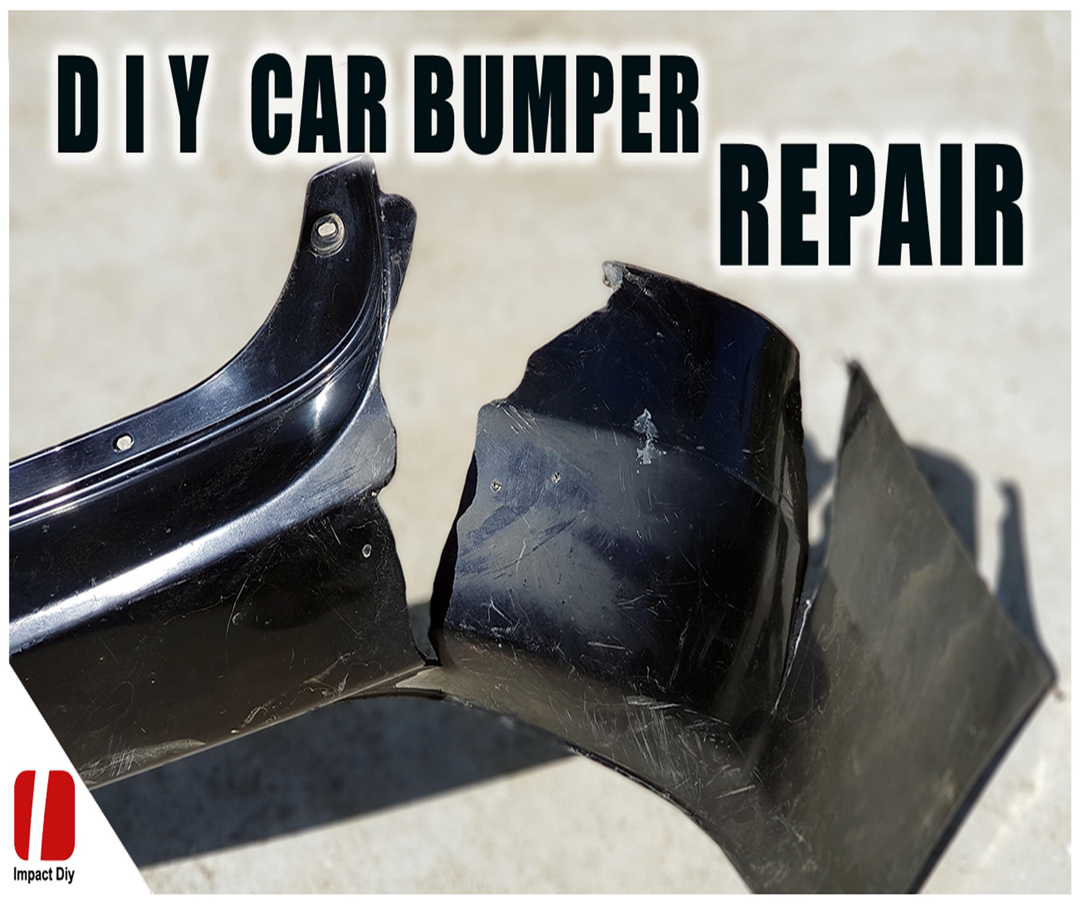 How to Repair Car Bumper