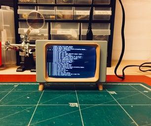 Raspberry Pi Retro-Looking TV