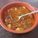 Vegetable Beef Soup .. From Scratch
