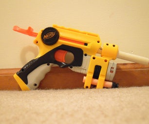 How to Mod Your Nerf NiteFinder: Reinforce and New Spring