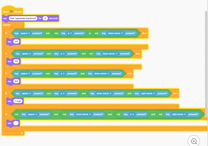 Option 1: Code Scratch Project Using Logic
