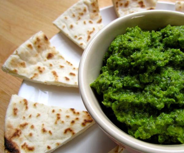 Mint and Pea Hummus Recipe