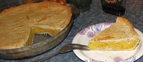 Homemade Shaker Orange Pie