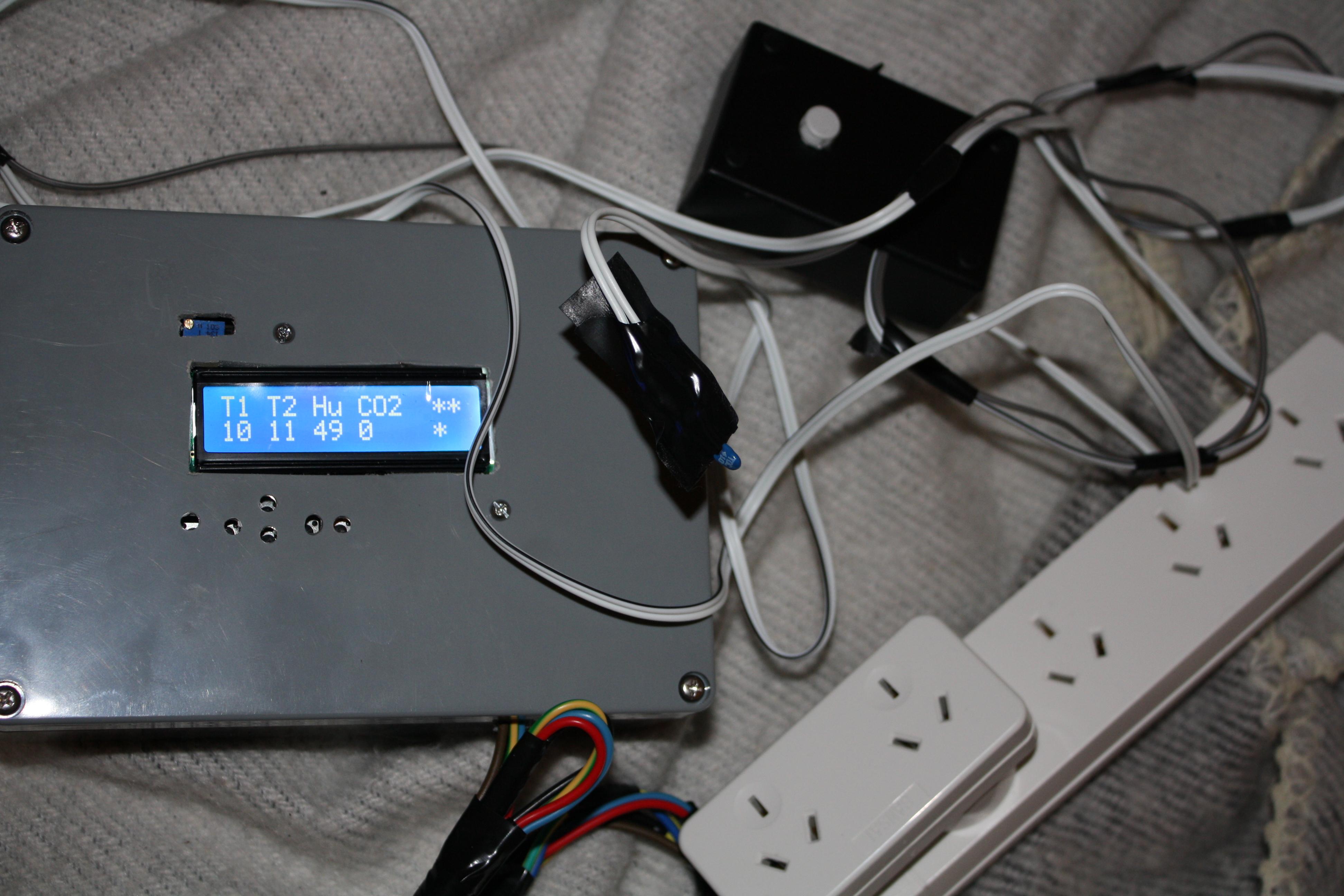 Mushroom Environment Control - Arduino Powered