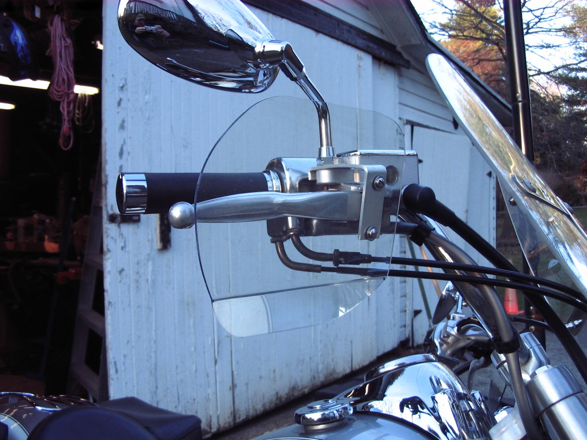 Motorcycle Hand Wind Deflectors version 2.1