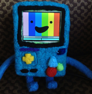 Adventure Time: Animated Felted BMO