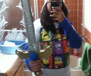Adventure Time Logo Sword