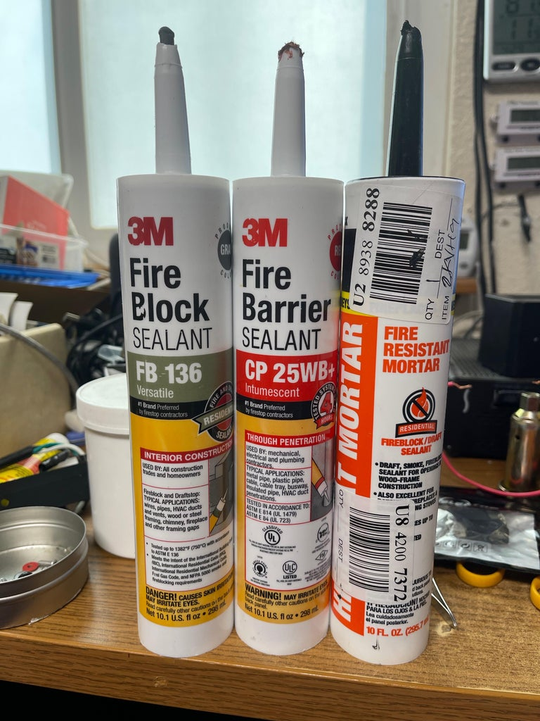 Fight Fire With.. Fireproofing!