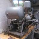 Reanimating Grandpas old DIY WWII Compressor