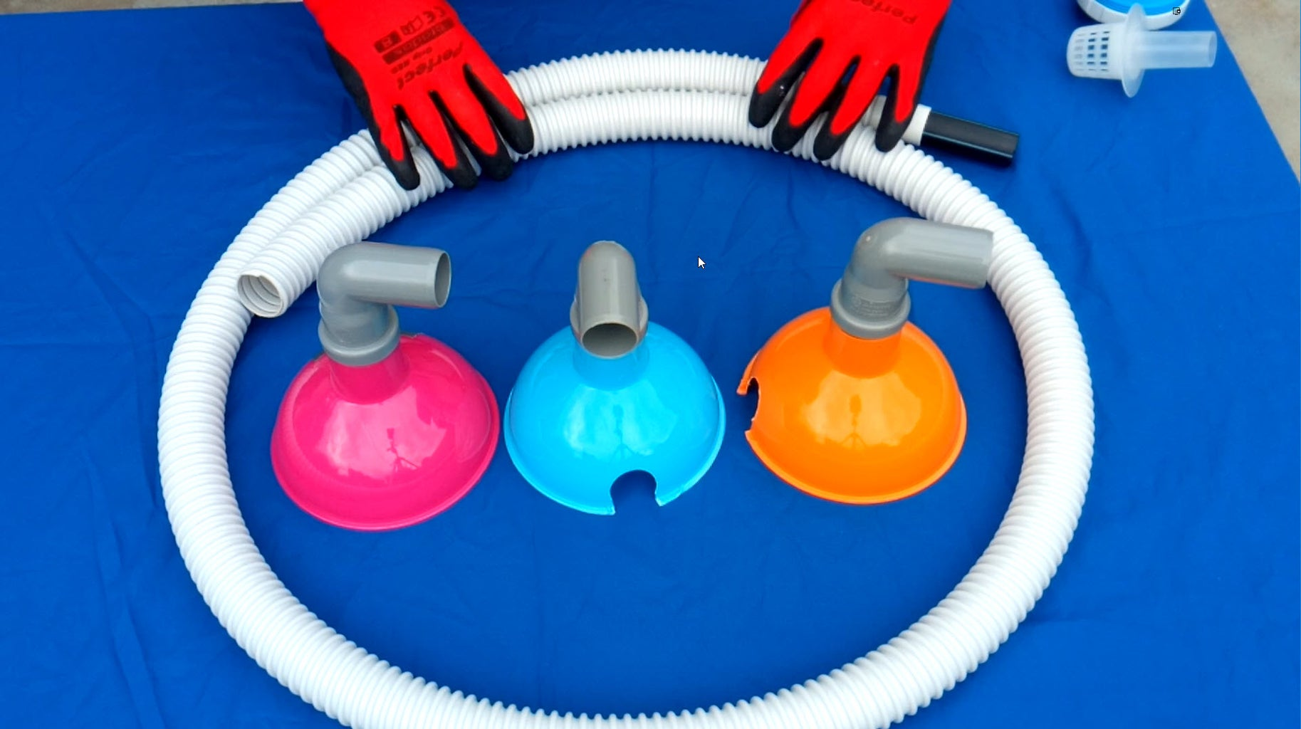 Pool Vacuum Cleaner Head - Like a Floor Drain
