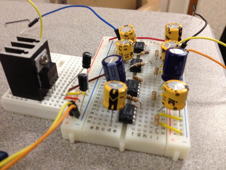 Create Amplifier for Speakers
