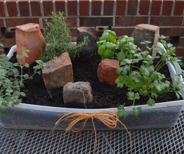 Indoor/Outdoor Herb Garden