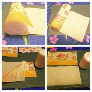 Measuring and Preparing the Paper Napkin