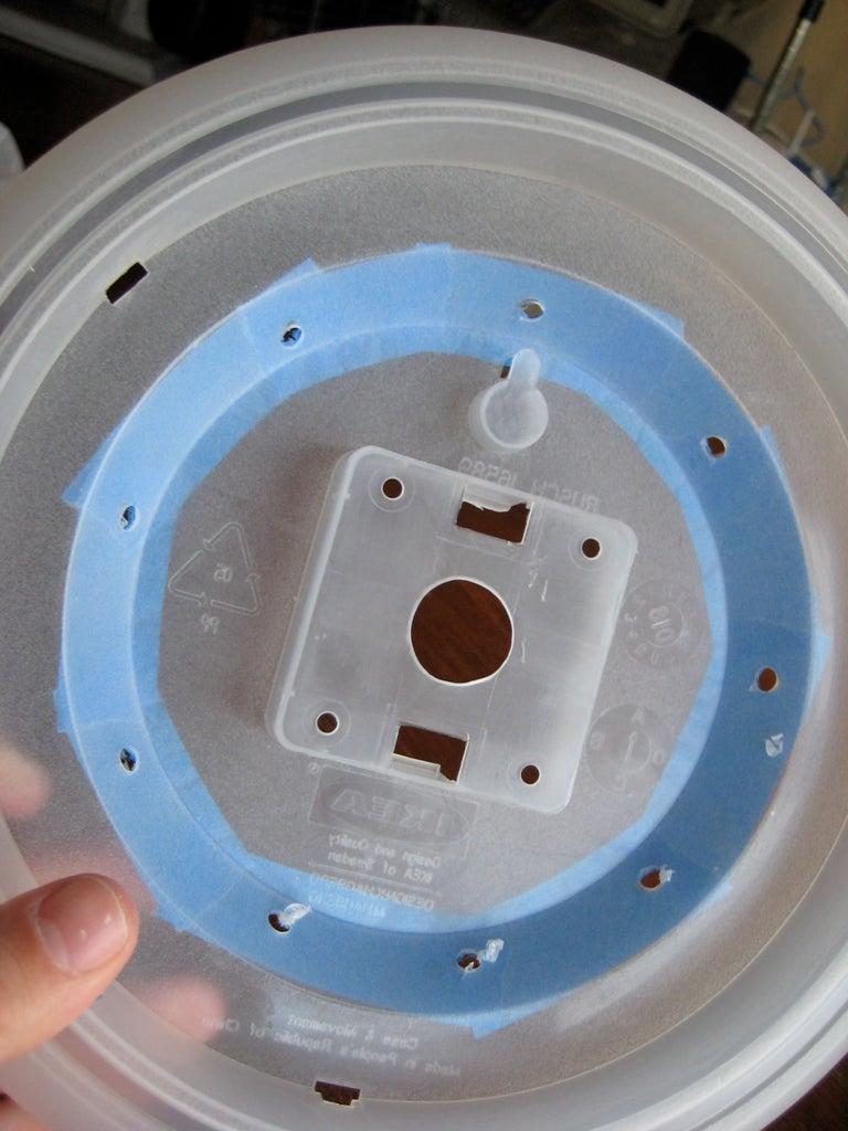 Drill LED Holes