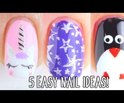 Unicorn Nails Design
