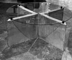 Casted Portland Cement Table