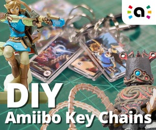 Amiibo Key Chains (Kiichains?)