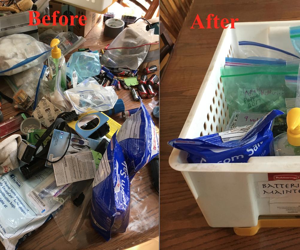 Declutter Your Junk Drawer
