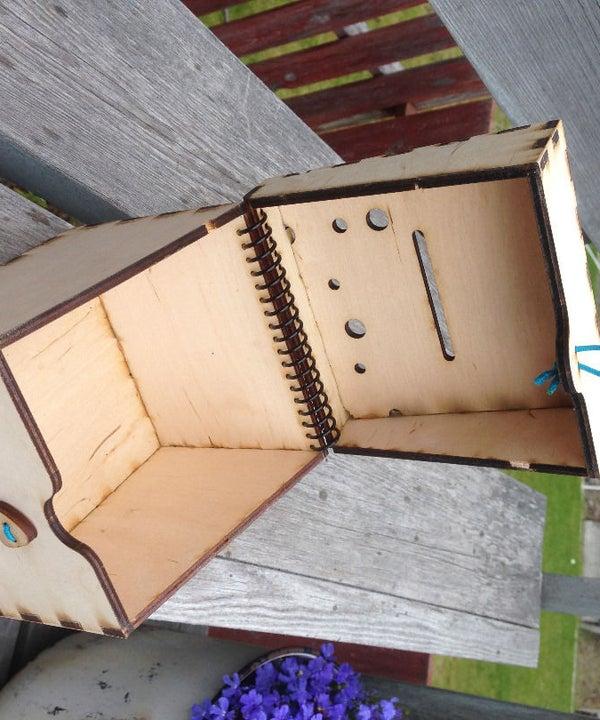 Coil Hinged Box
