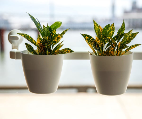 IKEA HACK: Suction Cup Window Planters