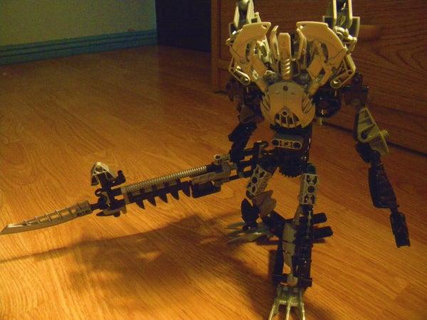 Bionicle No Heart (Kingdom Hearts Remenant Armor)