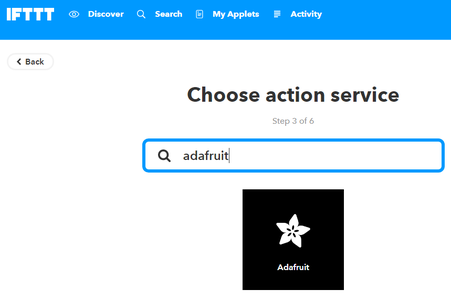 IFTTT Configuration and Applet Creation