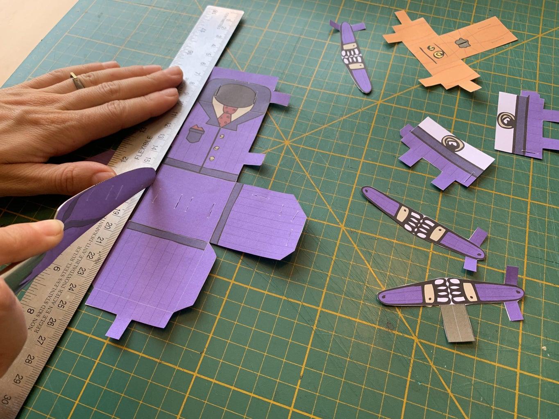 Bonus Credit - Scoring the Papercraft