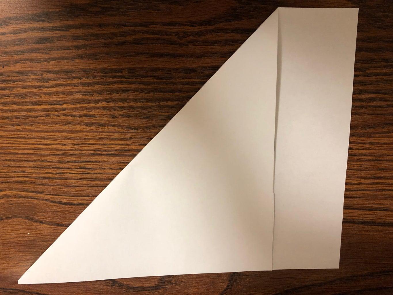 Cut Paper Into a Square